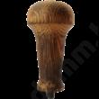Égetett, antikolt tölgyfa kávétömörítő nyél hosszabb