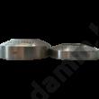 Vastag kávétömörítő talp lapos 55 mm
