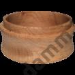 Tölgyfa kávébetöltő tölcsér 58 mm portafilterhez