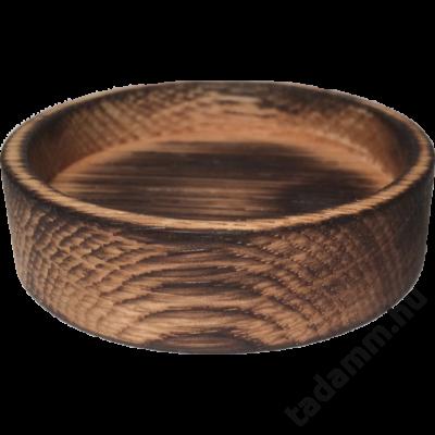 Égetett, antikolt tölgyfa kávétömörítő tartó 50mm-es belső körrel