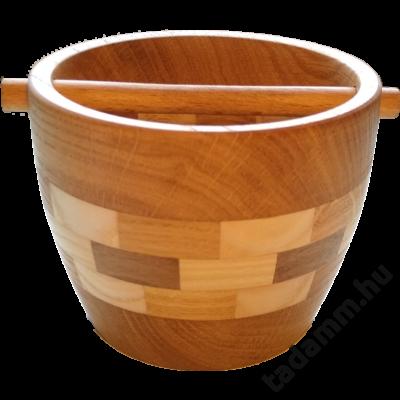 Tölgyfából, kézzel készült fa Knock box